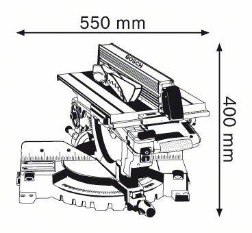 TRONCATRICI BOSCH GTM-12 COMBI