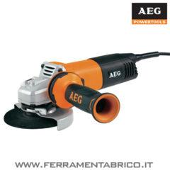 SMERIGLIATRICE AEG WS 12-125 XE