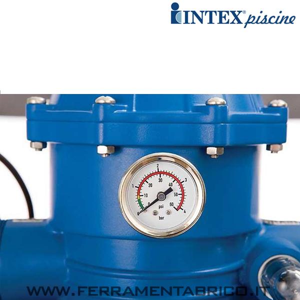Pompa filtro piscine intex sabbia 10000 l h ferramenta brico for Intex piscine accessori