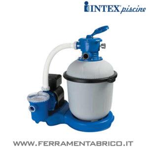POMPA FILTRO PISCINE INTEX SABBIA 6000 L-H