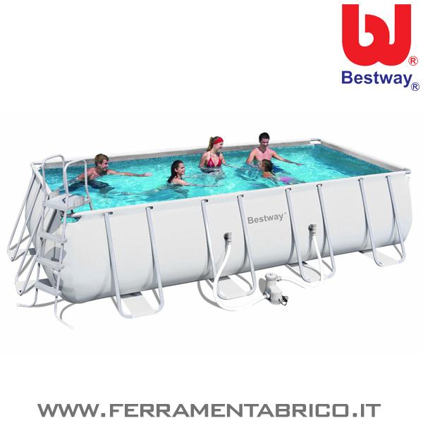 Piscina rettangolare 549x274x122 - Riparazione telo piscina ...