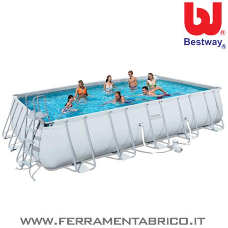 Piscina rettangolare 671x366x132 bestway - Riparazione telo piscina ...