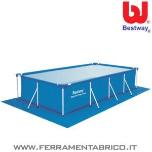 PISCINA STEEL PRO 400X211X81 BESTWAY