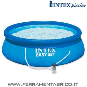 PISCINA TONDA 366X76 INTEX