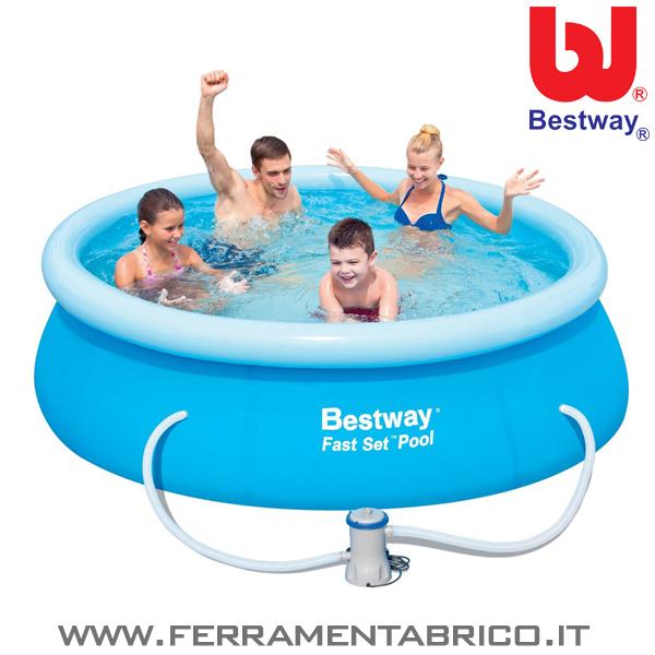 piscina tonda 244x66 bestway