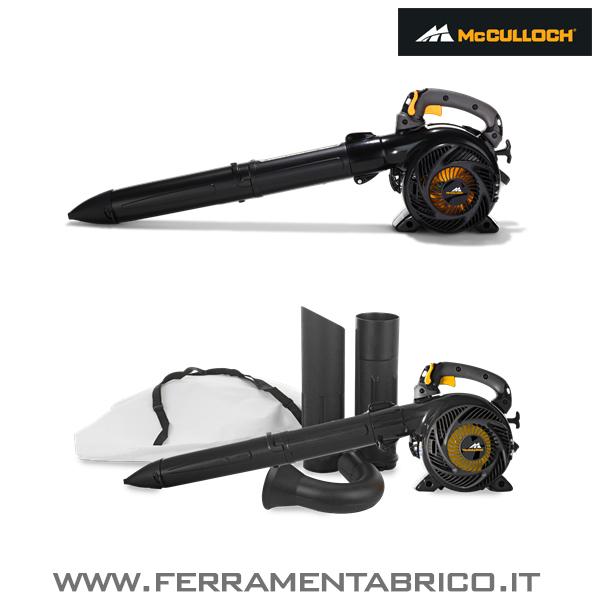 aspiratore soffiatore mcculloch gbv 345. Black Bedroom Furniture Sets. Home Design Ideas