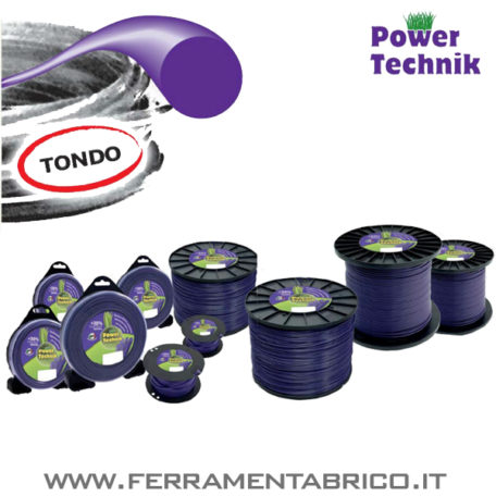 FILO DECESPUGLIATORI TONDO POWER TECHNIK